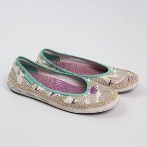 Columbia Vulc N Vent Bettie floral slip-on shoe